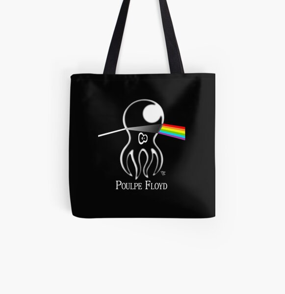 Poulpe Floyd All Over Print Tote Bag