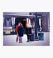"""UT Students Enjoying a Snow Day""... prints and products Photographic Print"