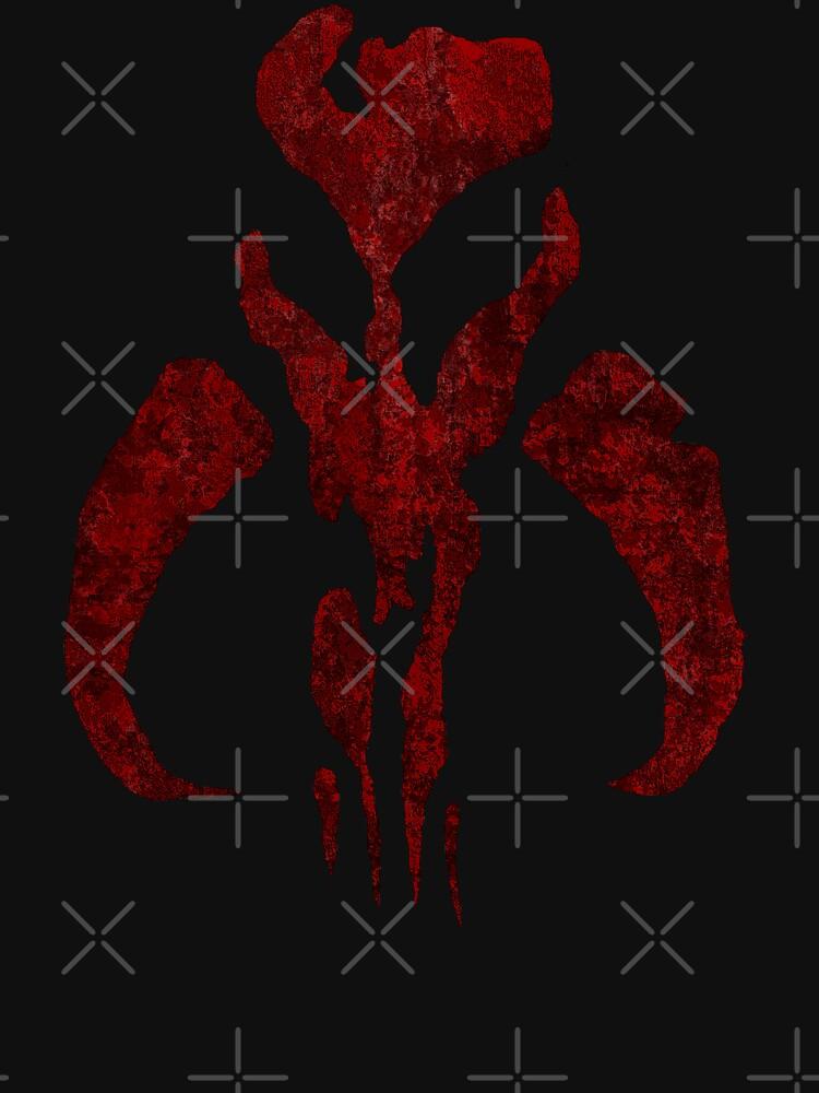 Boba Fett Symbol Mandalorian Mythosaur Skull Unisex T Shirt A T