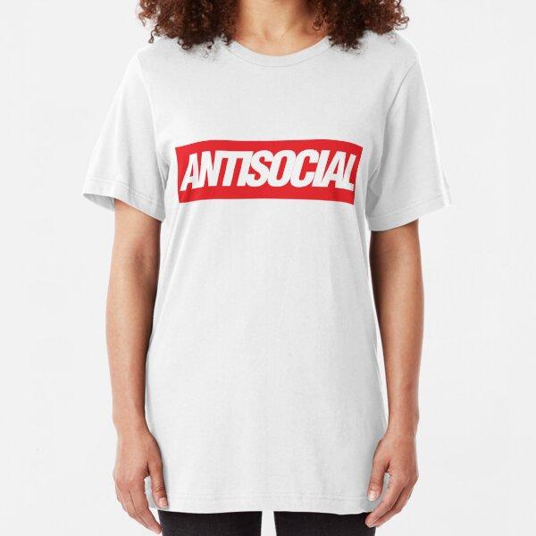Antisocial {FULL} Slim Fit T-Shirt