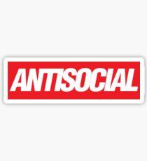 Antisocial {FULL} Sticker