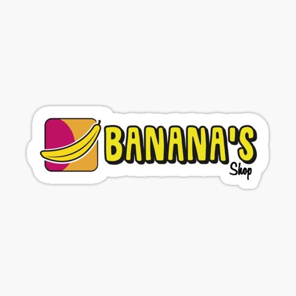 Banana's Shop  Sticker