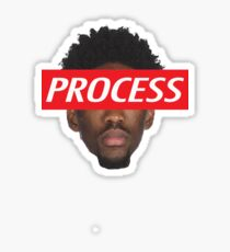 Joel Embiid Philadelphia 76ers Process Sticker