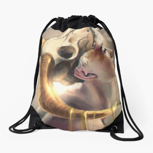 Myths Untold Drawstring Bag