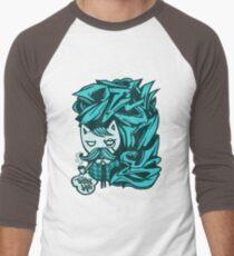 Tally-Ho! Blue Men's Baseball ¾ T-Shirt
