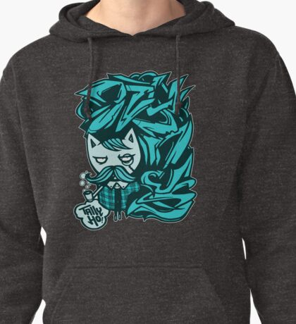 Tally-Ho! Blue Pullover Hoodie