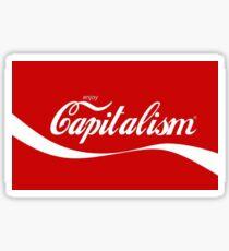 coke capitalism Sticker