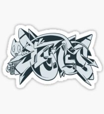 DZYNES Graffiti Cat Sticker