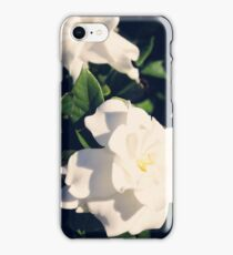 Gardenia Flowers iPhone Case/Skin