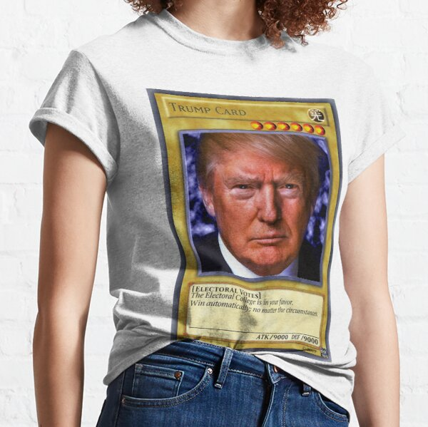 YuGiOh! Carte Donald Trump T-shirt classique