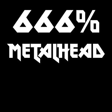 666% metalhead by antichrist666