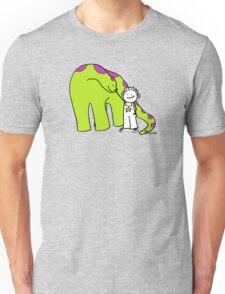 My friendly dinosaur Unisex T-Shirt