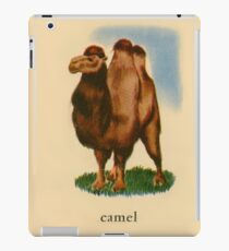 C is for Camel iPad Case/Skin