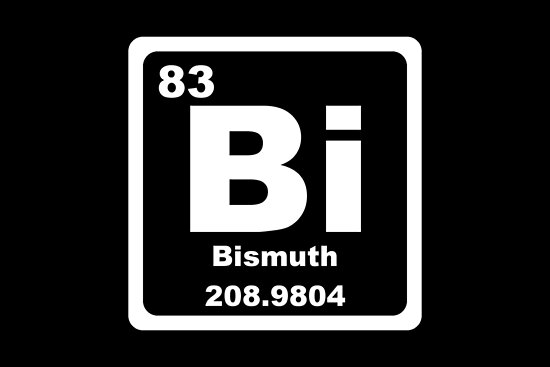 Bi Periodic Table Posters By Graphix Redbubble