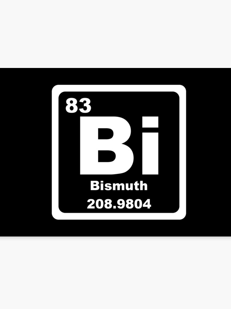 Bi Periodic Table Canvas Print