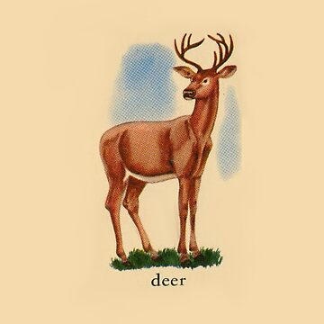 D is for Deer by dickybow