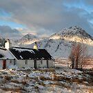 Blackrock Cottage in Winter by Maria Gaellman
