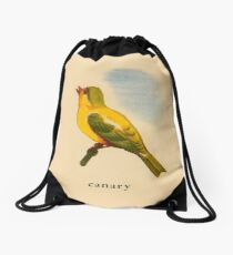 C is for Canary Drawstring Bag
