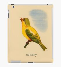 C is for Canary iPad Case/Skin