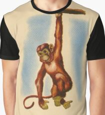 M is for Monkey Graphic T-Shirt