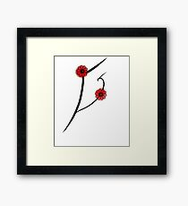Flowers from japan.  Framed Print