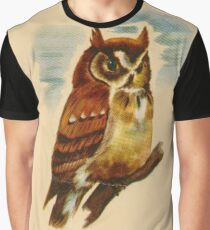 O is for Owl Graphic T-Shirt