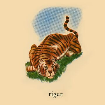 T is for Tiger by dickybow