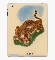 T is for Tiger iPad Case/Skin