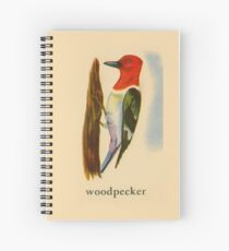 W is for Woodpecker Spiral Notebook
