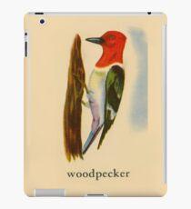 W is for Woodpecker iPad Case/Skin