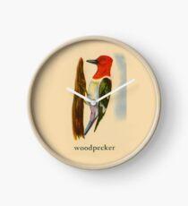 W is for Woodpecker Clock