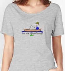 Fishing - Simple Things Women's Relaxed Fit T-Shirt