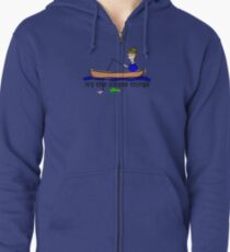 Fishing - Simple Things Zipped Hoodie