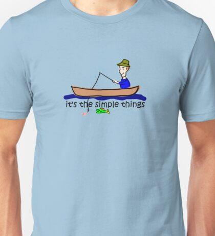 Fishing - Simple Things T-Shirt