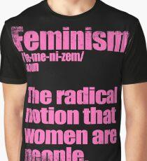 Feminism Definition Graphic T-Shirt
