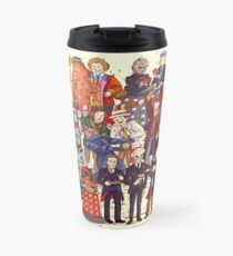 The party doesn't start until the Doctor walks in...twelve times Travel Mug