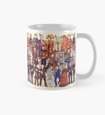 The party doesn't start until the Doctor walks in...twelve times Mug