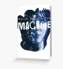 Machines Greeting Card