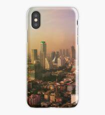 Skyline of Bangkok at sunset, Thailand iPhone Case/Skin