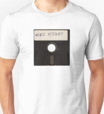 Vergessen Sie niemals Computer-Disketten Slim Fit T-Shirt