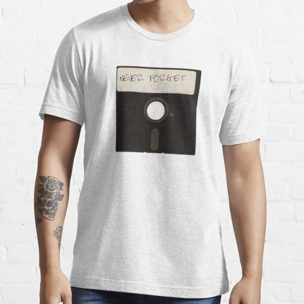 Never Forget Computer Floppy Disks Essential T-Shirt
