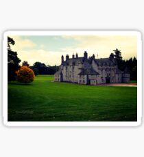 Leith Hall (Huntly, Aberdeenshire, Scotland) Sticker