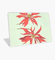 Red Flowers Laptop Skin