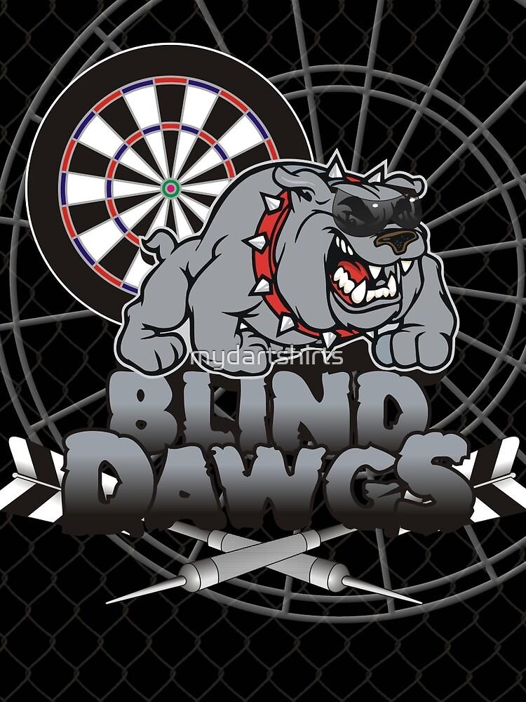 Blind Dawgs Darts Shirt by mydartshirts
