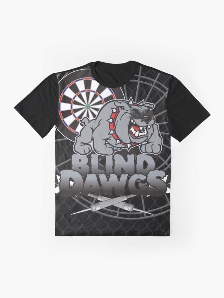 Alternate view of Blind Dawgs Darts Shirt Graphic T-Shirt
