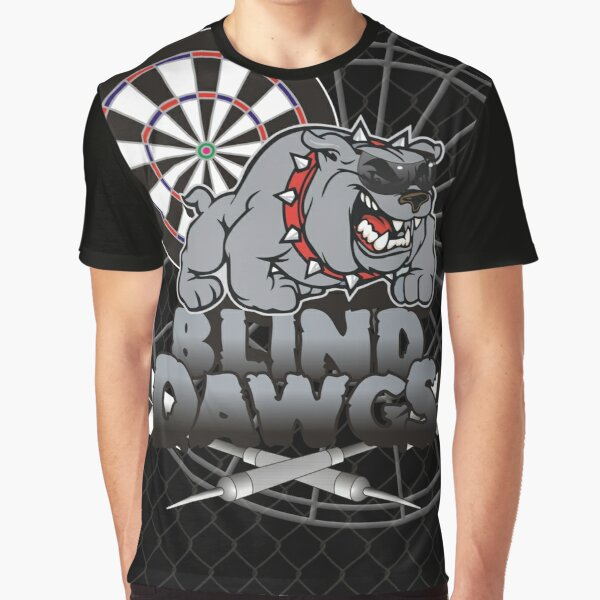 Blind Dawgs Darts Shirt Graphic T-Shirt