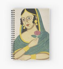 Indian Lady Spiral Notebook