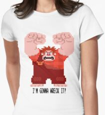 Wreck-It Ralph - Gonna Wreck It! Womens Fitted T-Shirt