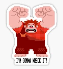 Wreck Ralph Stickers  Redbubble