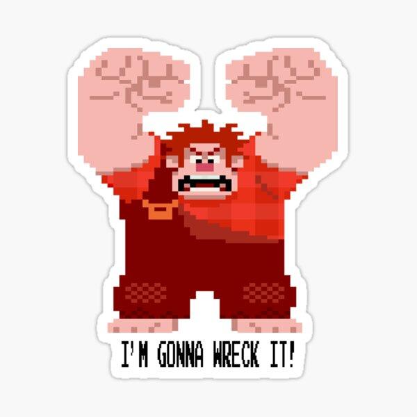 Wreck-It Ralph - Gonna Wreck It! Sticker